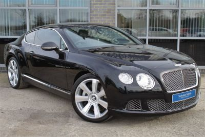 Bentley Continental GT 6.0 W12 2dr Auto Coupe Petrol Black at Yorkshire Vehicle Solutions York