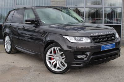 Land Rover Range Rover Sport 5.0 V8 S/C Autobiography Dynamic 5dr Auto Estate Petrol Brown at Yorkshire Vehicle Solutions York